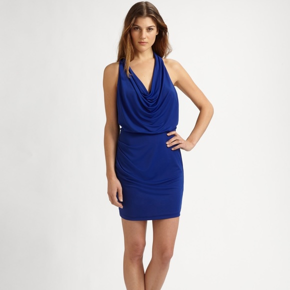 BCBG Dresses & Skirts - BCBG Skye Blue Mini Dress